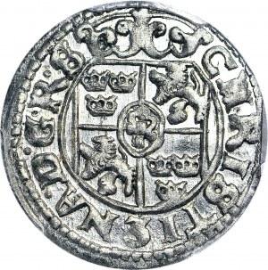 Krystyna Waza, Półtorak 1648, Ryga, Okupacja Szwedzka Inflant, WYŚMIENITY
