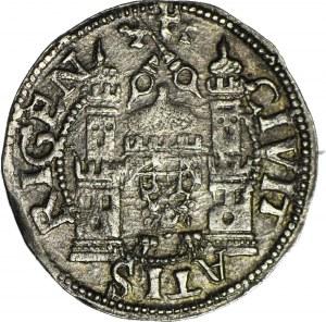 R-,Wolne Miasto Ryga, Ferding 1566