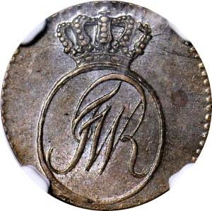 Zabór, Prusy Południowe, Szeląg 1796 E, Królewiec