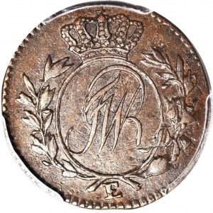 R-, Zabory, Prusy Południowe, 1/2 grosza DATA *796 E, SMERID (zamiast MERID), Królewiec, CIEKAWOSTKA