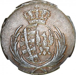 Księstwo Warszawskie, 3 grosze 1812 IB, okołomennicze