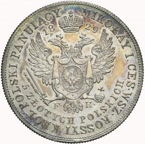 Królestwo Polskie, Aleksander I, 5 złotych 1829, ładne