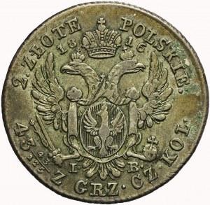 Królestwo Polskie, Aleksander I, 2 złote 1816