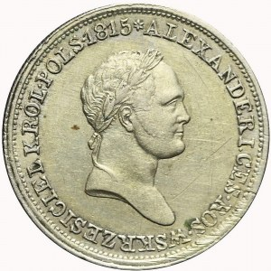 Królestwo Polskie, Aleksander I, 2 złote 1830, ładne