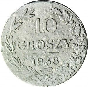 Królestwo Polskie, 10 groszy 1838