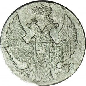 RR-, Królestwo Polskie, 10 groszy 1839, rzadki rocznik, podwójne