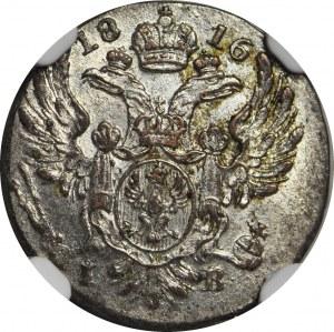 Królestwo Polskie, 5 groszy 1816, mennicze, WYŚMIENITY