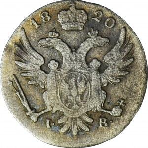 R-, Królestwo Polskie, 5 groszy 1820, rzadki rocznik, ładne