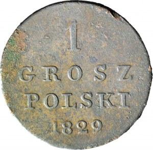 Królestwo Polskie, 1 grosz 1829 FH
