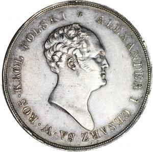 RR-, Królestwo Polskie, Aleksander I, 10 złotych 1823, nakład 1.124 szt., Warszawa