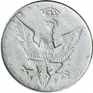 Królestwo Polskie, 20 fenigów 1917 FF, DESTRUKT - duch