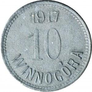 RRR-, Winnogóra, Henryk Mańkowski, 10 fenigów 1917