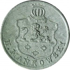 RRR-, Winnogóra, Henryk Mańkowski, 5 fenigów 1917