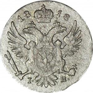 Królestwo Polskie, 5 groszy 1818, piękne detale
