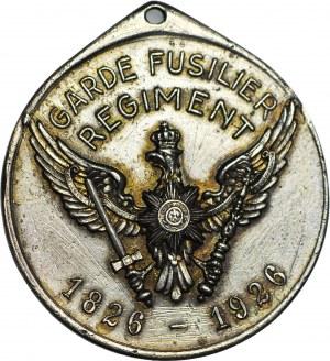 R-, Niemcy, Medal 1926, 100-lecie utworzenia Rezerwowego Pułku Piechoty Gwardii,