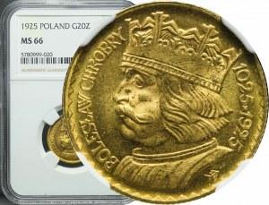20 złotych 1925, Bolesław Chrobry, piękne