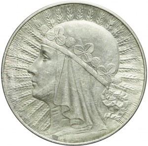 10 złotych 1932, Głowa, Warszawa, piękna