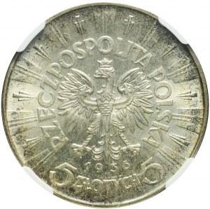5 złotych 1936, Piłsudski, mennicze