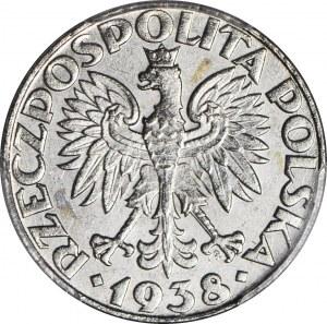50 groszy 1938 niklowane, mennicze
