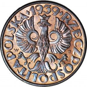 5 groszy 1939, mennicze