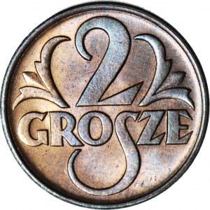 2 grosze 1938, mennicze