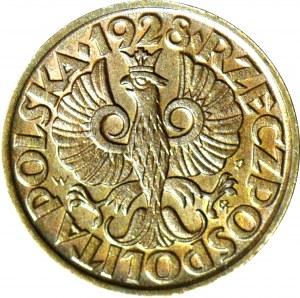1 grosz 1928, menniczy