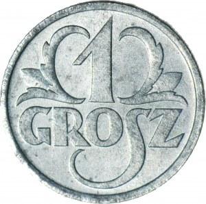 1 grosz 1939, Okupacja, mennicze, jasny odcień