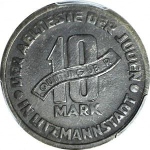 Getto, 10 Marek 1943, Al-Mg, okołomennicze z połyskiem.