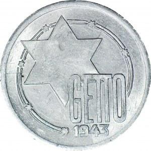 Getto, 10 marek 1943 Al, GDA 5b/4a KROPKA na gwieździe