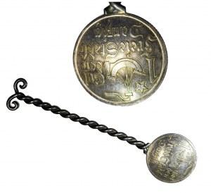 WMG, 1 gulden 1923 - łyżeczka