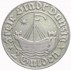 Wolne Miasto Gdańsk, 2 guldeny 1932, Koga