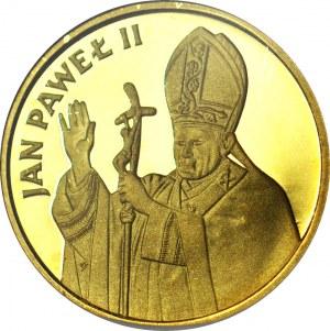 1000 złotych 1982, Valcambi, Jan Paweł II, stempel lustrzany