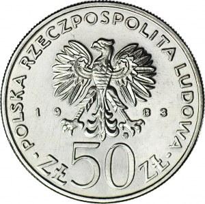 50 złotych 1983, PRÓBA nikiel, Teatr Wielki