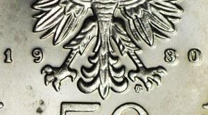 RRR-, 50 złotych 1981, Bolesław Chrobry, DESTRUKT - TRIPLE DIE !