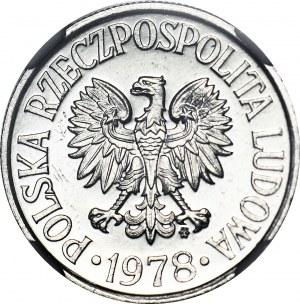 R-, 50 groszy 1978, PROOFLIKE