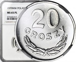 R-, 20 groszy 1979, PROOFLIKE