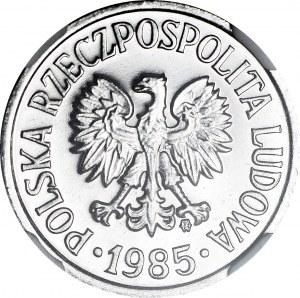 R-, 20 groszy 1985, PROOFLIKE