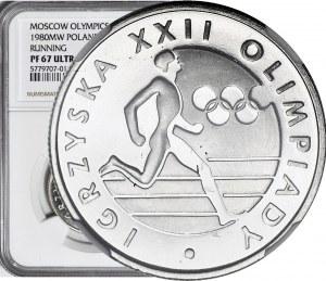 20 złotych 1980, Igrzyska XXII olimpiady, lustrzane