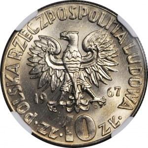 10 złotych 1967, Mikołaj Kopernik, menniczy