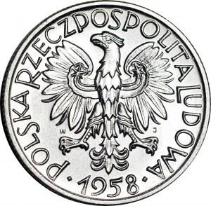 5 złotych 1958, Rybak, wąska 8, WYŚMIENITA
