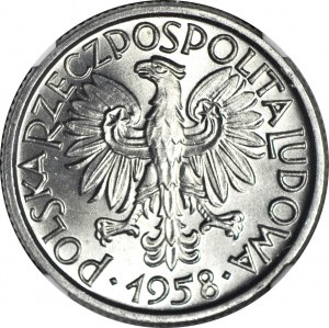 2 złote 1958, Jagody, mennicze, wysoka nota