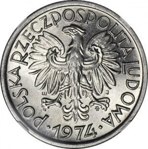 2 złote 1974, Jagody, mennicze