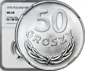 50 groszy 1975, mennicze