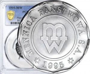 RRR-, 1 złoty 1995, 13-kątna, rzadkość
