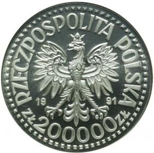 200.000 złotych 1991, PRÓBA, Jan Paweł II, ideał