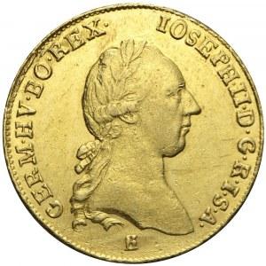 Austria, Siedmiogród, Józef II, Dwudukat 1783, Karlsburg