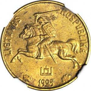Litwa, 20 centów 1925, mennicze