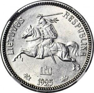 Litwa, 1 lit 1925, menniczy
