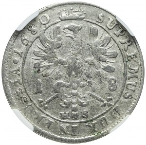 Niemcy, Brandenburgia-Prusy, Fryderyk Wilhelm, Ort 1680, Królewiec