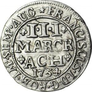 Niemcy, Aachen, Franciszek I, 3 Marck 1754